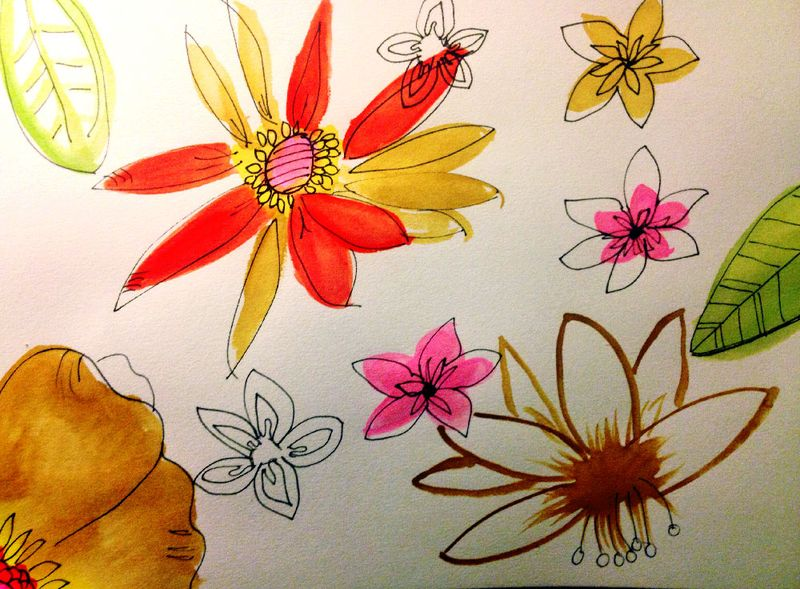 Sketchbookflowers