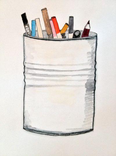 Pencilcupsketch